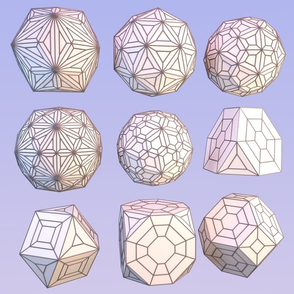 3d model geometric mht-02