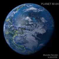 3d planet m-04 m