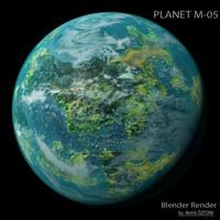planet m-05 m 3d max