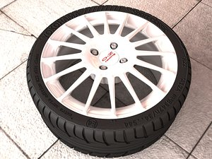 free rim oz racing 3d model