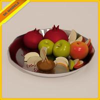 plate rosh hashana 3ds