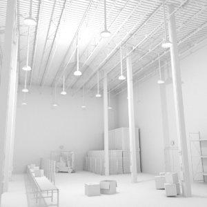 scene warehouse 3d model