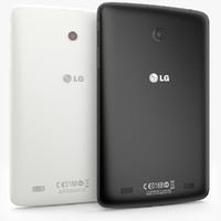LG G Pad 7.0 Black - White