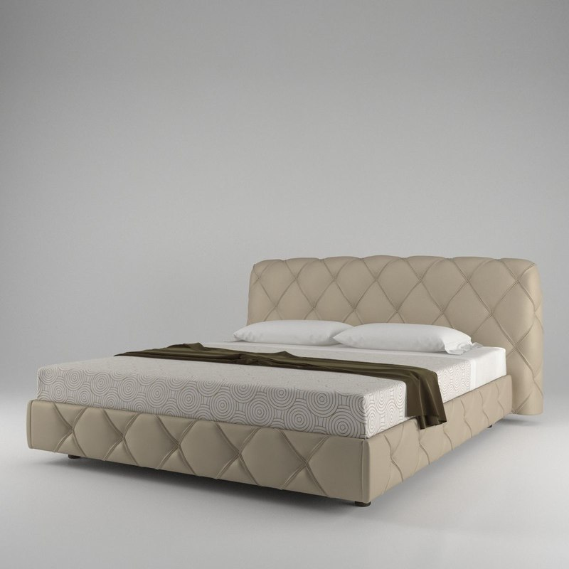 poltrona frau flair luxe 3d obj
