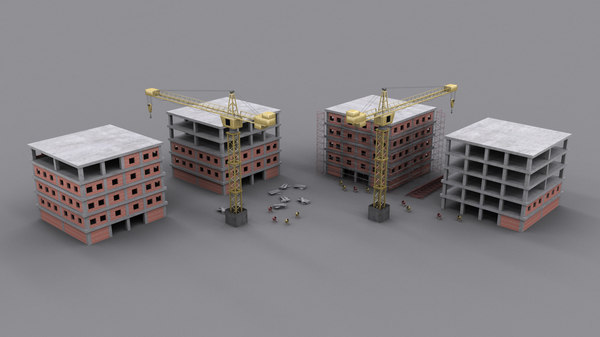 3ds max construction site