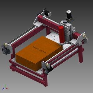 3ds max cnc machine