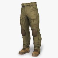 Combat Pant AC Coyote & Boots