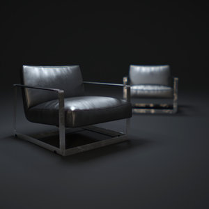 3d gaston-chair model