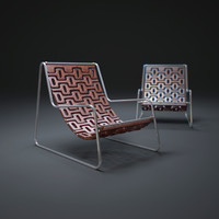3d model ipanema-chair
