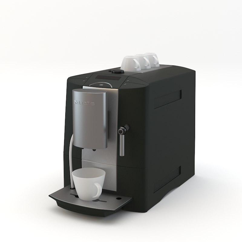 miele coffee 3d max