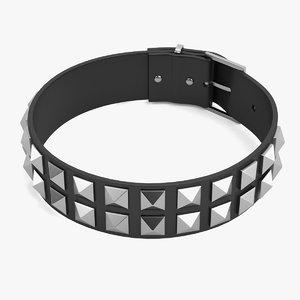 punk necklace 3d obj