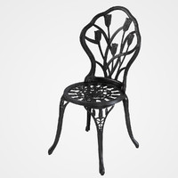Nassau Cast Aluminum Bistro Chair