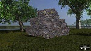 3d rocks fps creator reloaded model