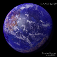 3dsmax planet m-09 m