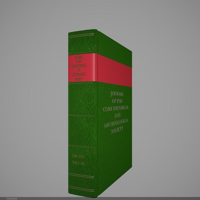 3d model book 83