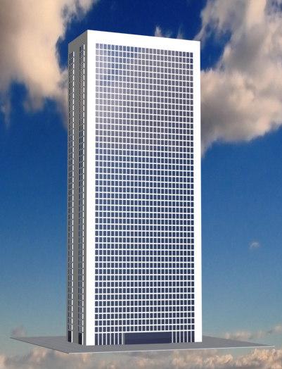 skyscraper 3d 3ds