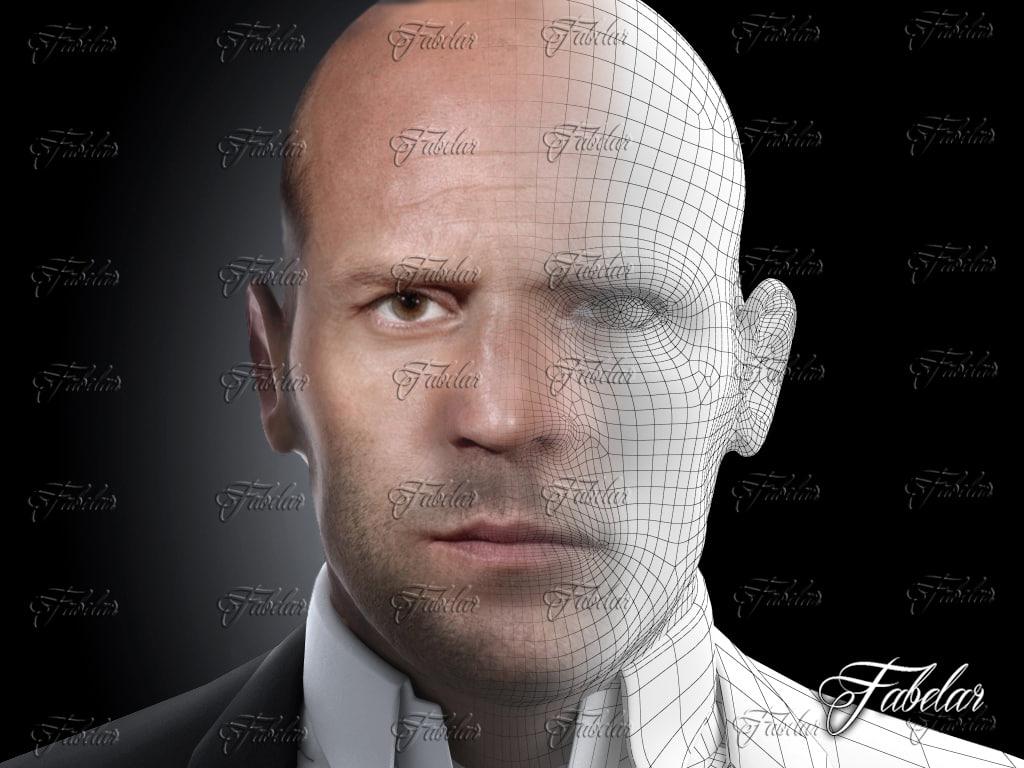 jason photorealistic printable 3d 3ds