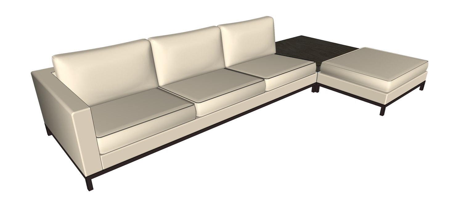 Minotti sectional minotti sc 1 st viyet for Andersen leather chaise sectional