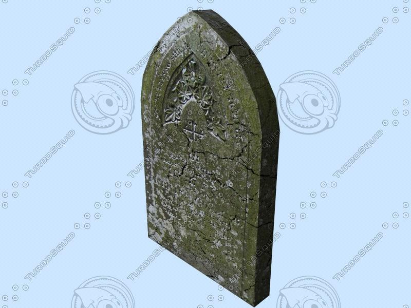 free tombstone1 3d model