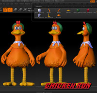 CHICKEN RUN Ginger