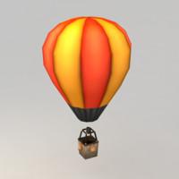 3d model ballon