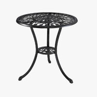 3d model of bistro table