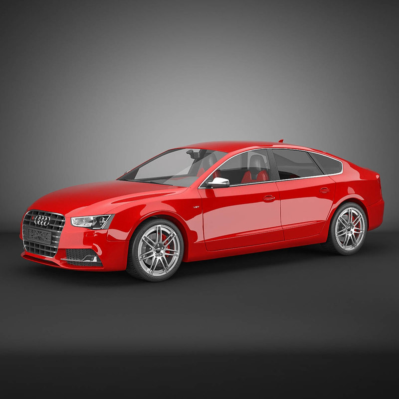 audi s5 2011 sportback 3d 3ds