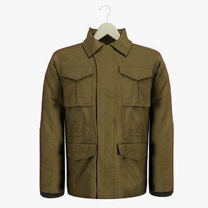 3ds max male brown coat hanger