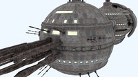 space explorer 3d obj