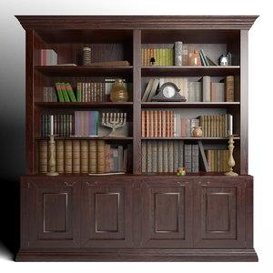 3ds max books bookshelf