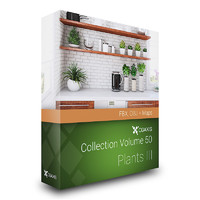 CGAxis Models Volume 50 Plants III FBX OBJ