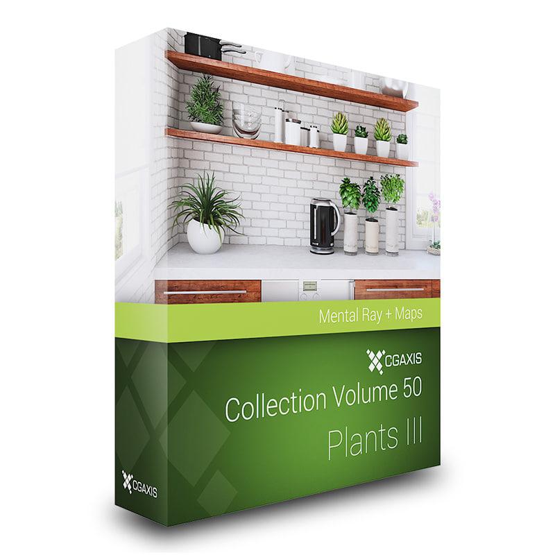 volume 50 plants 3d model