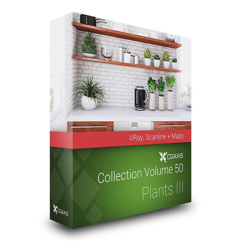 maya volume 50 plants