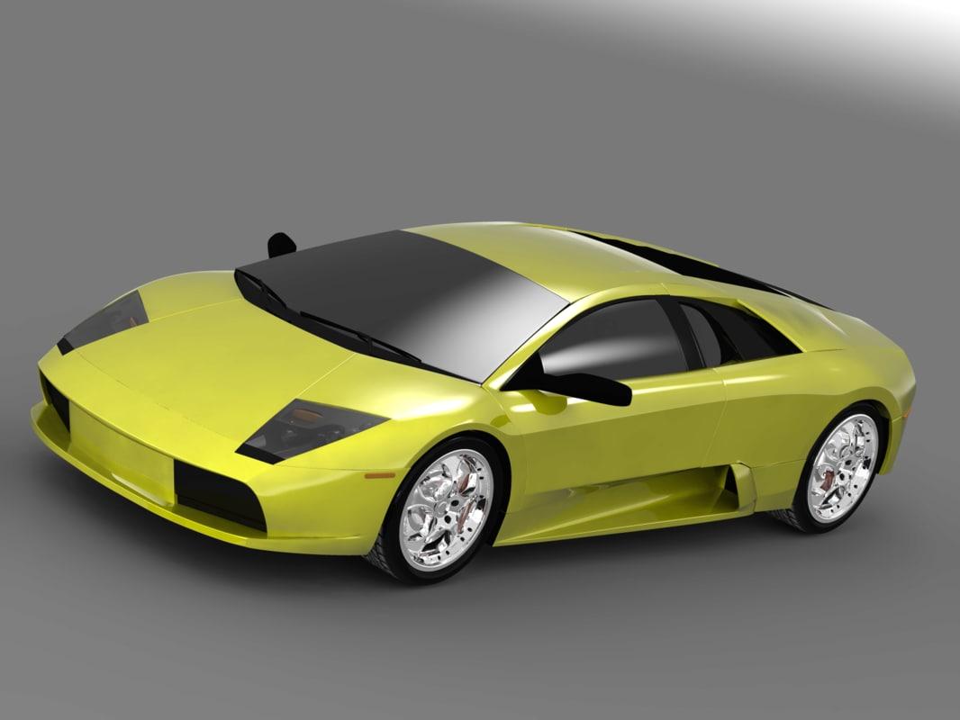 race sport 3d model