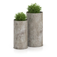 3d model plants large pots