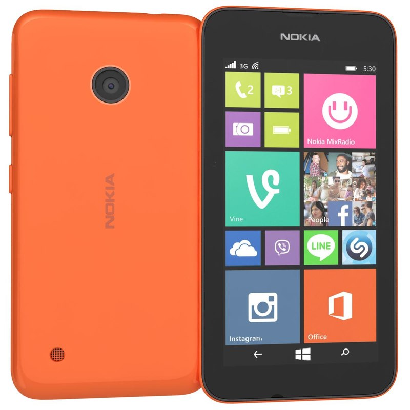 nokia lumia 530 dual model