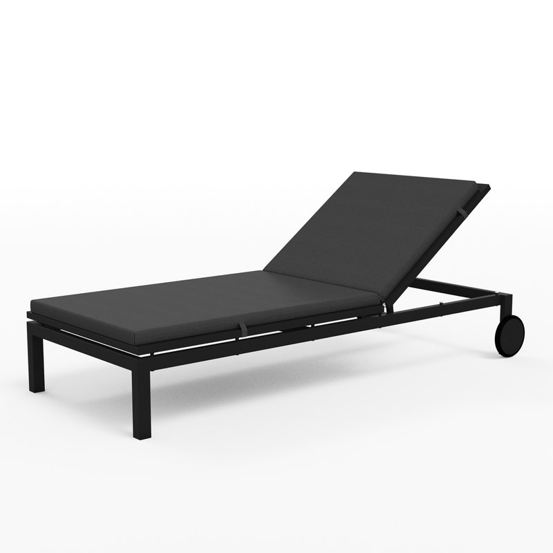 3d lounge chaise alfresco