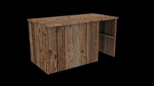 free c4d mode wooden storage