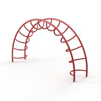 Half-Moon Climber for Playground