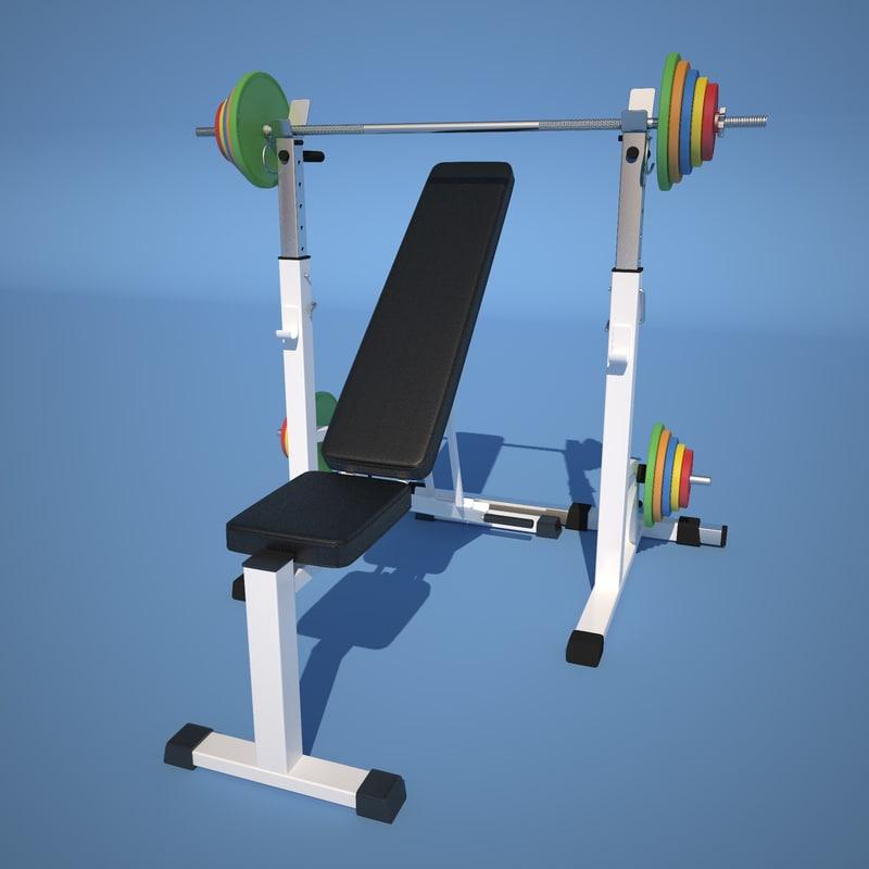 3d weight simulator model