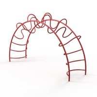 Ring-Tangle Climber for Playground