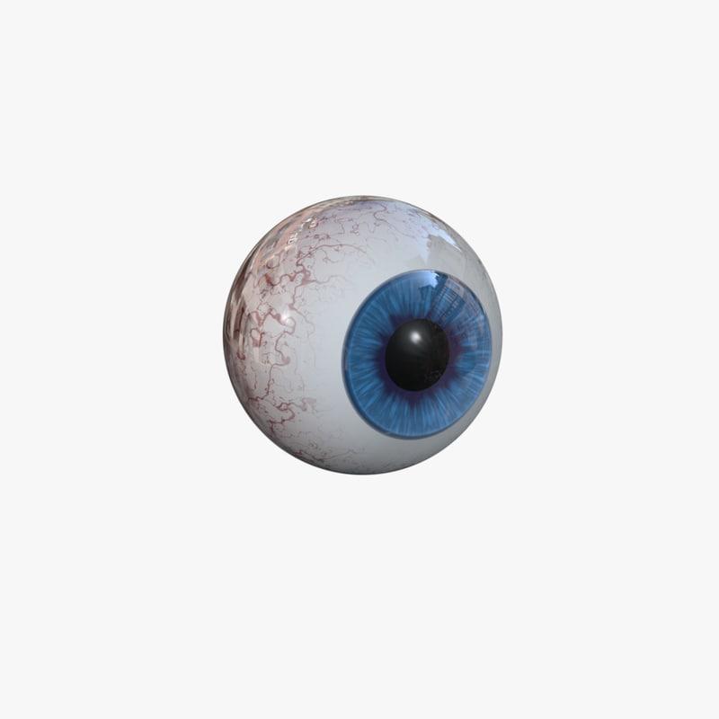 eye obj