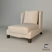 free 3ds model baker dane slipper chair