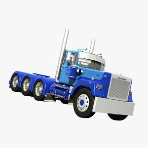 mack superliner truck tridriver lwo