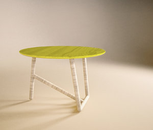 free coffee table design moroso 3d model