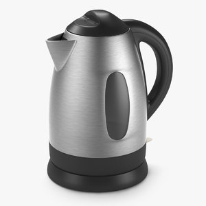 3d model of kettle electric