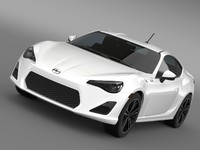 scion fr s monogram 3d model