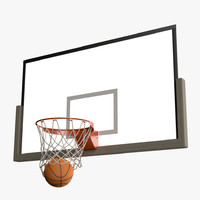 Basketball Net Swoosh ANIMATED Slow Motion