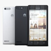 Huawei Ascend G6 & G6 4G Black and White