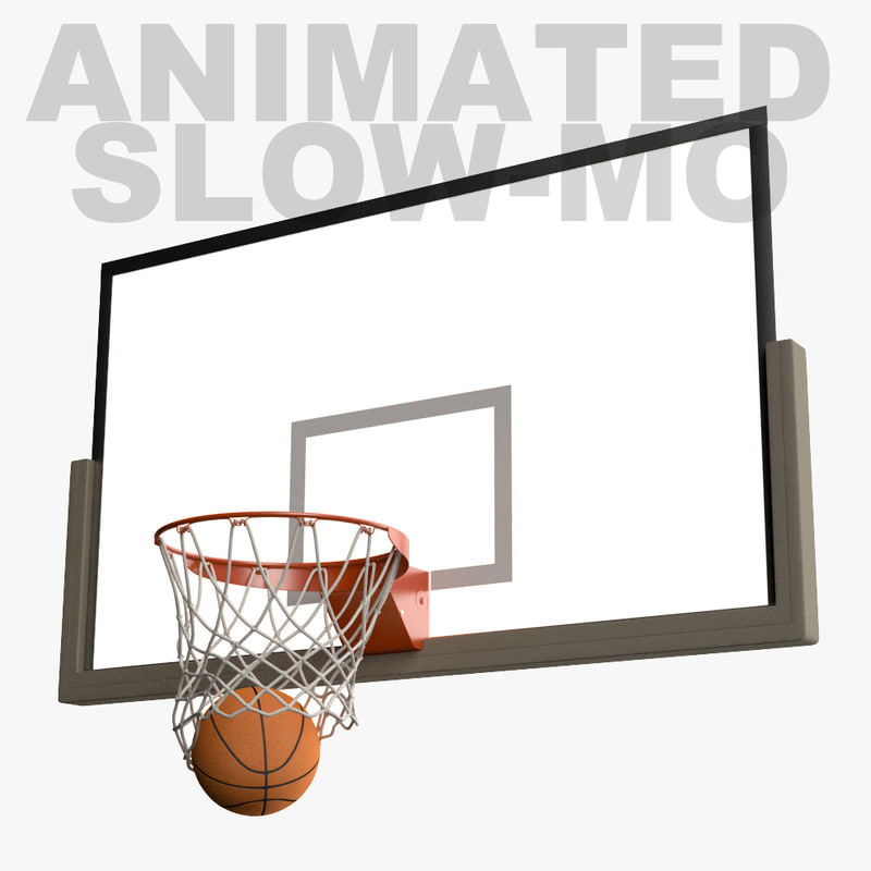 fbx slow motion animation basketball